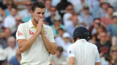 Cricket: Hazlewood targets England's batting greenhorns
