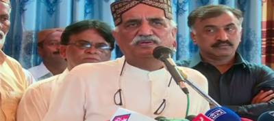 Imran Khan abuses institutions and then tenders apology: Khursheed Shah