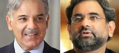 PM Abbasi, Punjab CM Shehbaz Sharif leave for London to meet Nawaz Sharif
