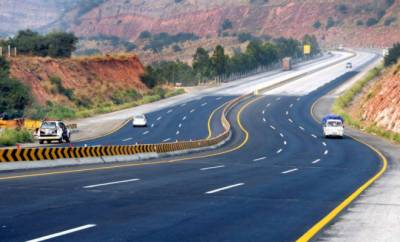 All sections of Motorway including M-2, M-3, M-4 open for all types of traffic