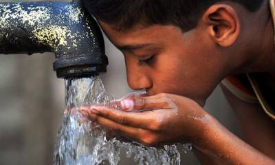 Only 36 % Pakistanis getting safe drinking water: WHO report