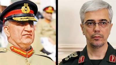 Pakistan Iran Army Chiefs vow to enhance defence and military ties