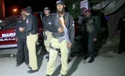Three terrorists arrested from Karachi