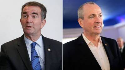 Democrat candidates win governor's race in Virginia, New Jersey states