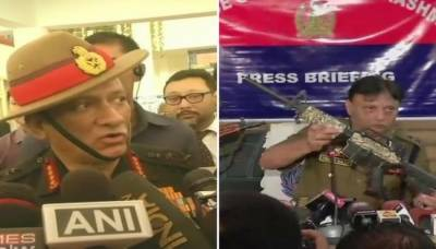 Indian Army Chief hits out at Pakistan