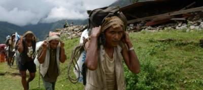 Lifeline trails restored to Nepal's quake-hit villages
