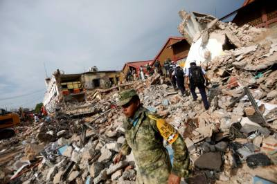 Mexico earthquake reconstruction will cost $2.5bn: Pena Nieto