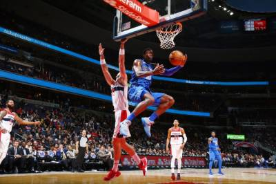 NBA: Barnes blast as Mavericks put spell on Wizards