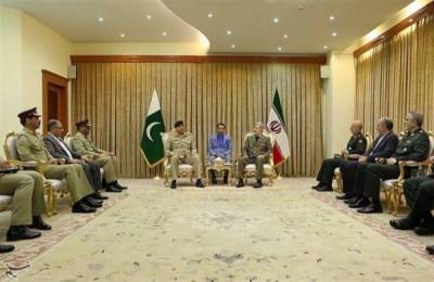 Pakistan Iran setup Hotline contact between Armies at border