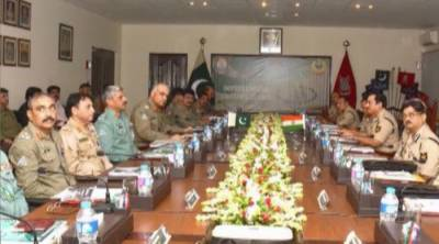 Pakistan Rangers delegation arrives in New Delhi for bi annual meeting with Indian BSF