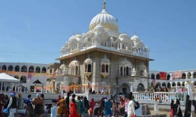 Indian Sikh Yatrees laud Pakistan's arrangements at Baba Guru Nanak Shrine