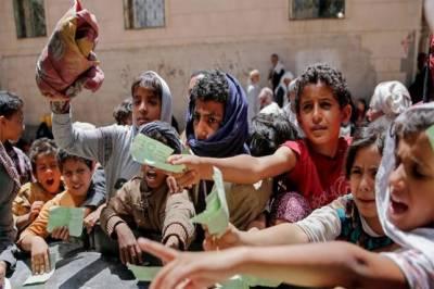 Millions of Yemeni at risk of mass famine due Saudi blockade