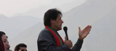 PTI chairman Imran Khan says former PM told a lie everywhere