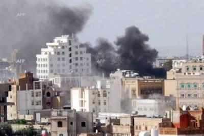 Saudi Airstrikes hit Yemeni Defence Ministry