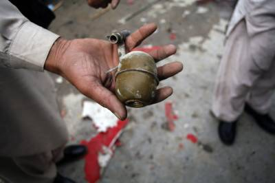 Terrorist arrested with hand grenades