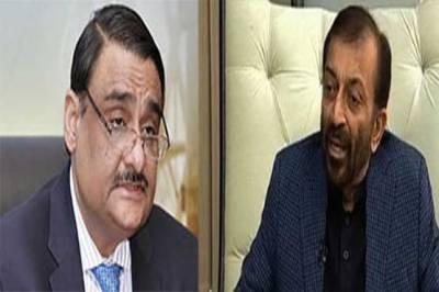 Asif Zardari sends a special message to MQM Chief Farooq Sattar