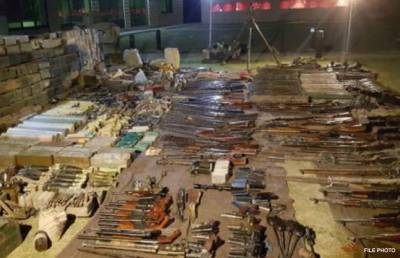 Arms, ammunition smuggling foiled