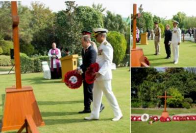 British High Commission pays tribute to those who laid down their lives in WW-I