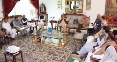 Nawaz Sharif chairs highest level PML-N party meeting