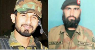 Pakistan Army two officers martyred in cross border terrorist attack from Afghanistan