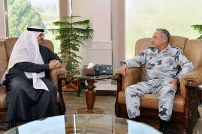 Saudi Ambassador calls on Pakistan Navy Chief