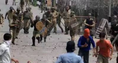 Severe clashes erupt in occupied Kashmir between protesters and Indian Army