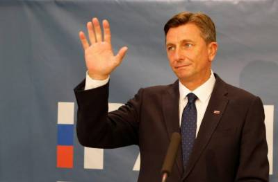 Slovenia's president Pahor re-elected for second term