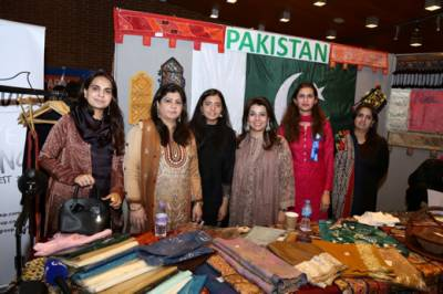Pakistani culture showcased at Commonwealth fair turns out to be a great attraction in London
