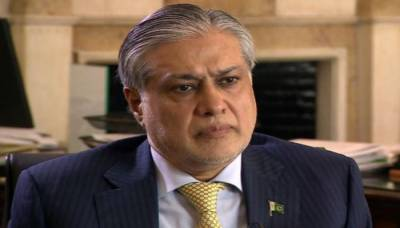 Has Ishaq Dar resigned from the Finance Ministry