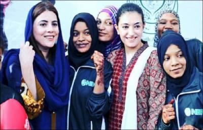Asifa Bhutto Zardari visits Lyari Boxing Club
