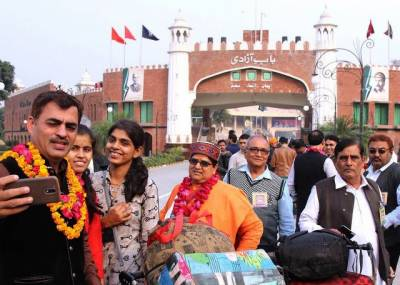 Hindu Yatrees arrive in Pakistan for religious gathering