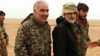 Iranian Military Advisor killed in Syria