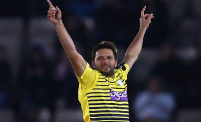 Shahid Afridi becomes the leading Pakistani wicket taker in T20 International