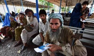 400,000 undocumented Afghan refugees registered