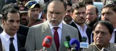 Ahsan Iqbal hopeful of ending sit-in in 48 hours