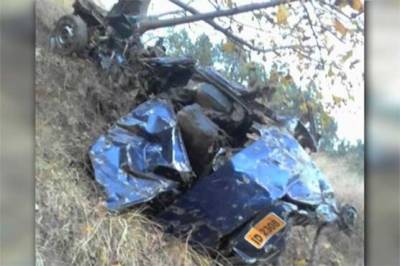 Five of a family killed as car plunges into ravine in Abbottabad