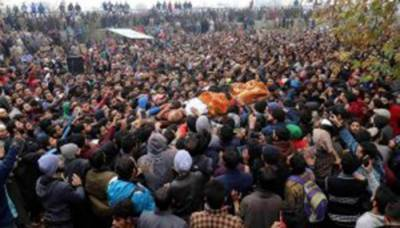 Indian Army martyrs one more Kashmiri youth in fake encounter