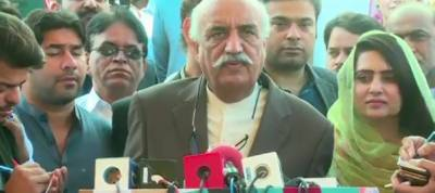Khursheed Shah asks Nawaz Sharif to leave unconstitutional way