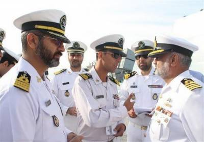 Pakistan Navy warships dock at Iranian port for joint Naval drills with Iran Navy