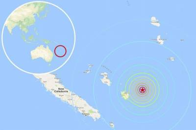 Powerful earthquake of 7 magnitude hits South Pacific