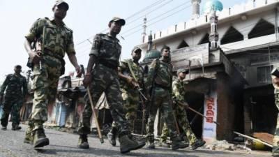 Sri Lankan troops patrol streets as Muslim - Sinhalese community violence feared