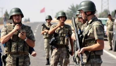 Turkish Army clash with Kurdish militia in Syria