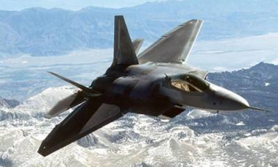 US Military uses F-22 Raptor for the first time in Afghanistan