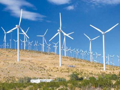 Work on 21 wind energy projects of 1000MW in full swing in Thatta