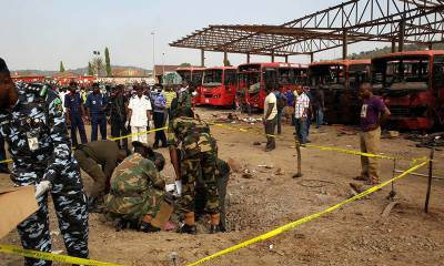 Atleast 50 people killed in a suicide blast inside mosque in Nigeria