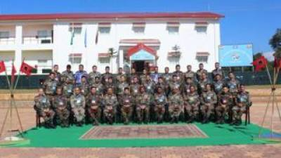 India - Myanmar Joint Military drills kick off