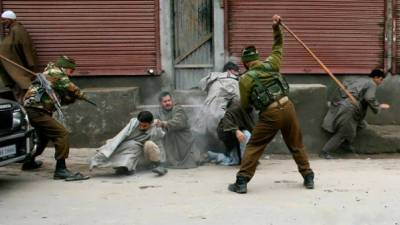 Indian Army martyrs three Kashmiri youth in act of state terrorism