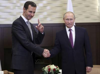 Putin discusses Syria's situation with Bashar al-Assad