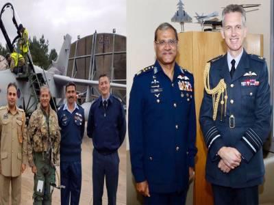 Royal Air Force Chief praises PAF role against terrorism