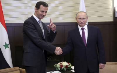 Russia's Putin hosts Assad for Syria peace deal